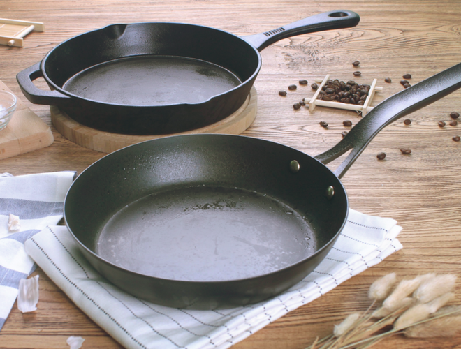 seasoning carbon steel pans